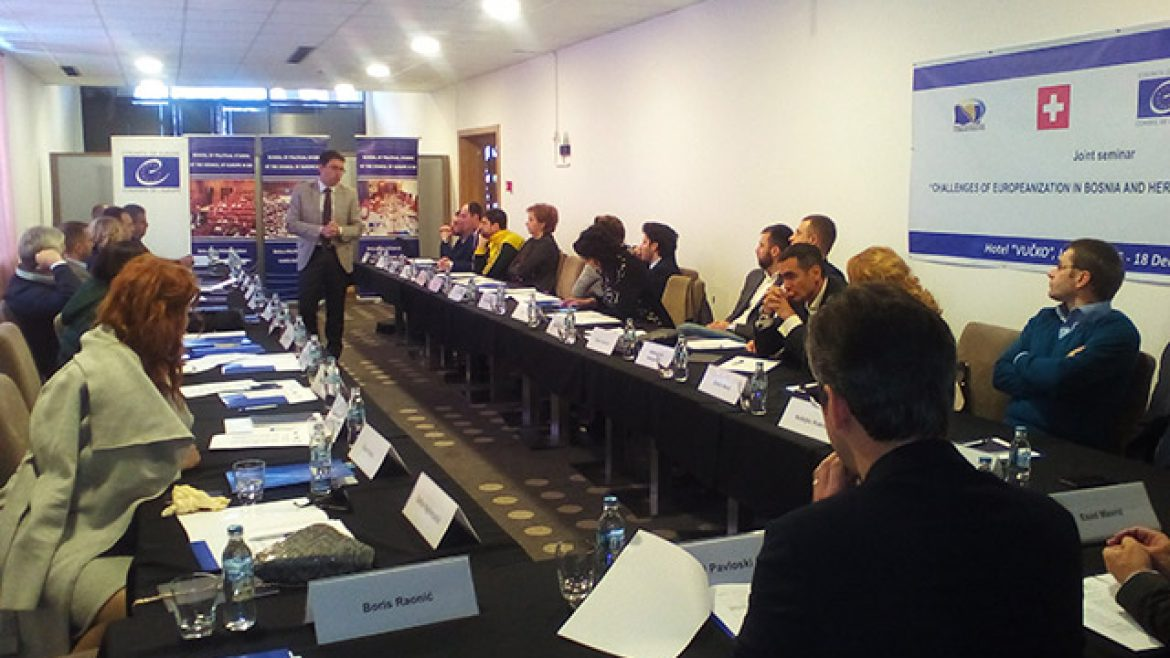MPs from Montenegro and BiH about the challenges of the two countries on their road towards the EU